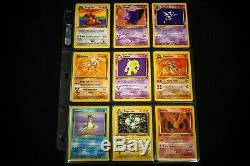 100% COMPLETE FOSSIL SET 62/62 38 x 1ST EDITIONS! WOTC POKEMON CARDS NM+
