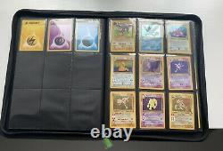100% Complete 1999 Wotc Pokemon Card Base Set 102/102 Jungle 64/64 Fossil 62/62