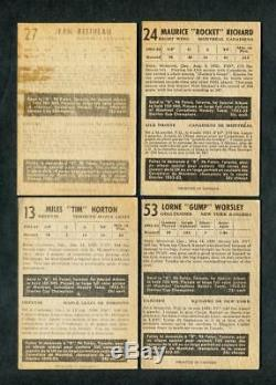 1953 PARKHURST HOCKEY COMPLETE SET 100/100 WithPSA 011