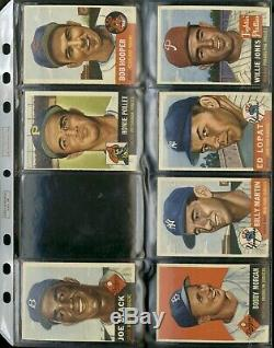 1953 Topps Baseball Complete Set 280/280 Paige Mantle Wynn Various Grades