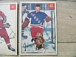 1954-55 Parkhurst Complete Hockey Set Richard Howe Beliveau Overall Vgex/ex Rare