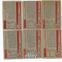 1954 Bowman Near Complete Set (223/224) Missing Mantle Es08