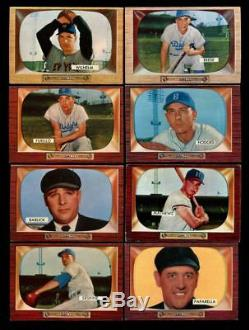 1955 Bowman Baseball Complete Set 320/320 With 32 Graded