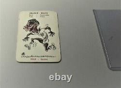 1958 Monty Gum International Footballers Complete Set 72 card Green Pele ROOKIE