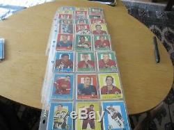 1959-60 Topps Complete (-3) Hockey Set Hull Sawchuck Howe Overall Vg+ Rare