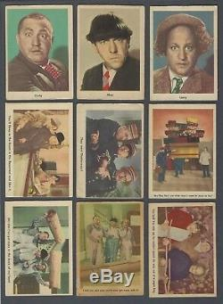1959 Fleer The Three Stooges Trading Cards Complete Set of 96 Including Wrapper