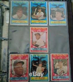 1959 Topps Baseball Complete Set (-19) Mantle Clemente Very Nice Vgex/ex Set