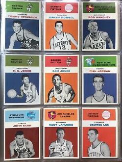 1961 Fleer Basketball Complete Set Wilt Chamberlain Jerry West Robertson Rookie