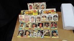1961 Topps Baseball Complete Solid mid Grade Set (587) 15 Graded Stars/ High #'s