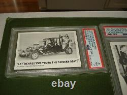 1964 Leaf, The Munsters Complete Graded Card Set, All Psa, Overall Avg Is 7.05