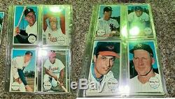 1964 Topps Giant Baseball COMPLETE SET 60 Mantle Mays Koufax Aaron Clemente Ford