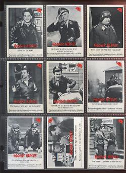 1965 Fleer Hogan's Heroes Non Sport Trading Card Complete Set of 66 NRMT+