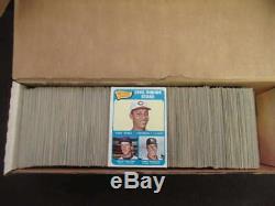 1965 Topps Baseball Near Complete Set 562/598 Tony Perez #581 Rc Vl769