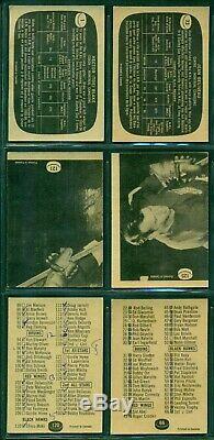1966 67 Topps Complete Hockey Set 1-132 G-vg