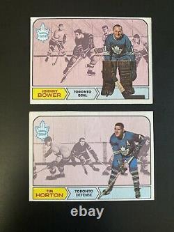 1968-69 Topps NHL Hockey Complete Set 132