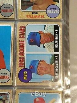1968 Topps Baseball Complete Set 598