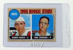 1968 Topps Baseball Near Complete Set (Minus 2 Cards Mantle & Ryan)