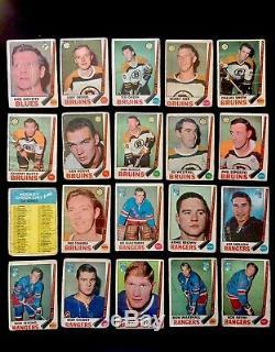 1969-70 OPC O-Pee-Chee Hockey Complete Set 231/231