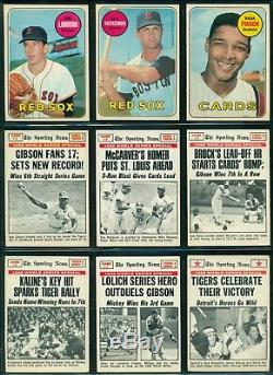 1969 TOPPS OPC O PEE CHEE BASEBALL COMPLETE SET 1-218 EX-NM Banks Aaron Gibson