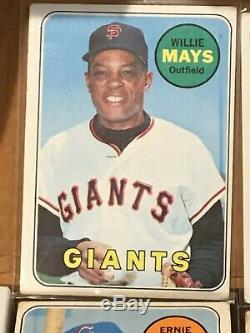 1969 Topps COMPLETE SET (664) Mantle! Clemente! Ryan! Jackson RC! + Deckles