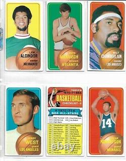 1970-71 Topps NBA Basketball Card Complete Set, Maravich Rookie, Wilt, Alcindor