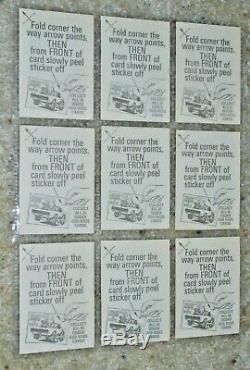 1970 DONRUSS Vintage ODDER ODD RODS Trading Card Stickers COMPLETE SET & NMINT+