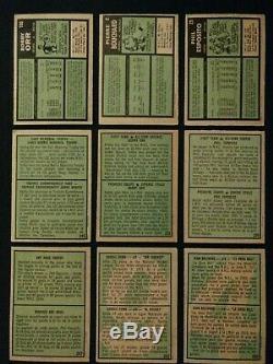 1971/1972 OPC Hockey Complete Set Lafleur Dryden Dionne RC's Howe Orr Beliveau
