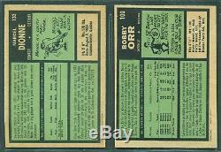 1971 72 Opc Hockey Card Complete Set 1-264 Near Mint-mint