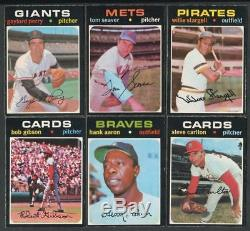 1971 O PEE CHEE BASEBALL OPC COMPLETE Low Series SET 1-523 Boxed