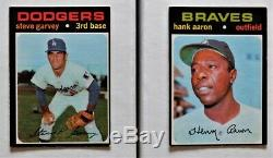 1971 O-pee-chee Baseball Set Complete High Grade Set 1-752 Unmarked Checklists