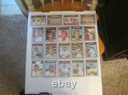 1971 Topps Baseball Card Complete Set All Nm To Nm-mt 33 Graded 7 And 8's