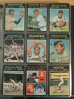1971 Topps Baseball Complete Set 752 Cards In Ex++ Shape