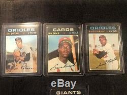 1971 Topps Baseball Complete Set High Mid-Grade 752/752 Cards Stars Rookies HOFs