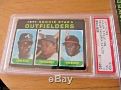 1971 Topps Complete Hi-grade Baseball Set Ryan Clemente Rose Exmt/nrmt Psa Stars