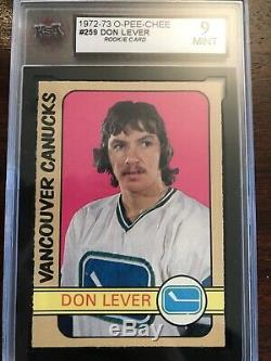 1972-73 Opc High End Complete Hockey Card Set 341/341 With 24 Graded Cards