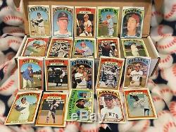 1972 TOPPS BASEBALL COMPLETE SET (1 787) with Hi#'s + HOFers, Rookies NICE