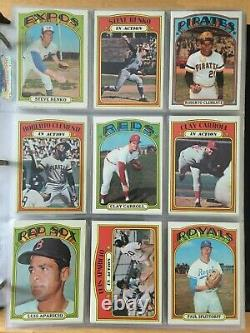 1972 Topps Baseball Complete Set 787 Cards Ex++ To Nm Grade