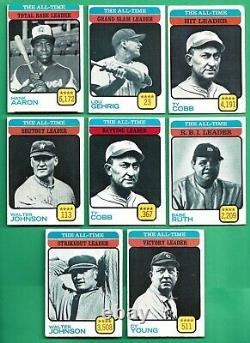 1973 Topps Baseball Complete 660 Card Set VG EX EM Mike Schmidt rookie