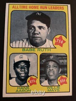 1973 Topps Baseball Complete Set 1-660 In Binder Schmidt Rookie Nice