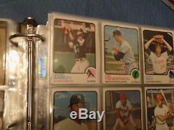 1973 Topps Baseball Complete Set in Binder EX