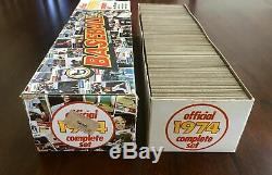1974 Topps Baseball Complete Factory Set, HIGH GRADE, Includes Traded Set