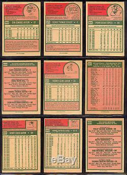 1975 TOPPS OPC O PEE CHEE BASEBALL COMPLETE SET 1-660 WithGeorge Brett RC PSA 7 NM