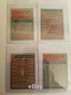 1975 Topps Baseball Complete Set Ex-mt / Nr. Mint Brett, Yount, Carter, Rice Rc