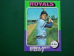 1975 Topps Baseball Complete Set W Brett Ryan Yount