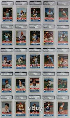 1976 Hostess Baseball Cards Signed Complete Set Of 150 With Thurman Munson PSA/DNA
