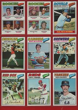 1977 Topps Baseball Complete Set (660) Nm/mt Overall #265 Fidrych Psa 9 Mint