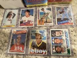1979 1982 1984 1985 1986 1987 1994 11 Topps Baseball Complete Sets Factory Lot