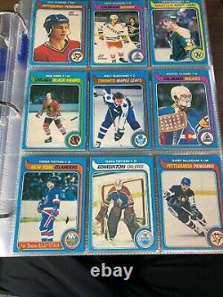 1979-80 OPC O-Pee-Chee Complete set Including Wayne Gretzky Rookie RC PSA 4