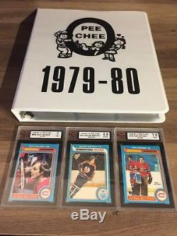 1979 80 OPC O-Pee-Chee complete set 396 ex-mt to nm Gretzky Rc Rookie KSA 6.5