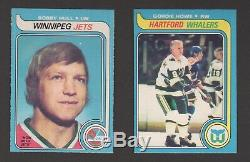 1979-80 O-Pee-Chee HI-GRADE Complete Set Gretzky Rookie Set Nearmint or better